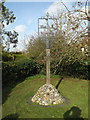 TM2179 : Brockdish Village sign by Adrian Cable