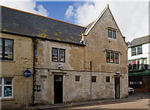 SY6778 : Weymouth: the building with the cannonball by Mike Searle