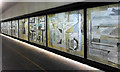 TQ3281 : Murals, Barbican (2) by Stephen Richards