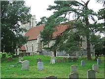 TM3669 : St Peter Sibton by Keith Evans