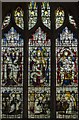 TQ7736 : Stained glass window, St Dunstan's church. Cranbrook by Julian P Guffogg