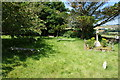 SW3731 : Churchyard of St Just Parish Church by Bill Boaden