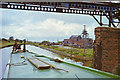 SJ6399 : Canal by Bickershaw Colliery, 1990 by Robin Webster