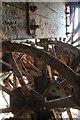 TQ7770 : Paddle tug John H Amos - rusty paddlewheel by Chris Allen