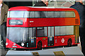 TQ3180 : Bus Art, 'New Routemaster' by Oast House Archive