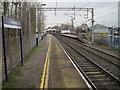 SJ8762 : Congleton railway station, Staffordshire by Nigel Thompson