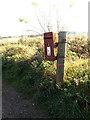 TM1783 : The Moor Postbox by Adrian Cable