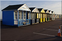 TM5176 : Beach huts, Southwold by Ian Taylor