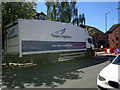 SP2965 : Parked lorry, Emscote Road, Warwick by Robin Stott
