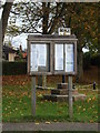 TM1578 : Scole Village Notice Board by Adrian Cable