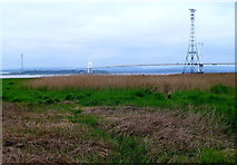 ST5590 : Old Severn Bridge from Old Passage by Jaggery