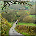 SO4717 : The Monnow valley at Tregate Bridge by Jonathan Billinger
