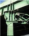 SP2965 : Steel support, Emscote Road railway bridge, Warwick by Robin Stott