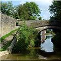 SJ8662 : Lamberts Lane Bridge in Congleton, Cheshire by Roger  Kidd