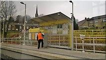 SD9311 : Newhay Metrolink station by Chris Morgan