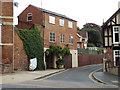 SP2864 : Southwest end of Castle Lane, Warwick by Robin Stott