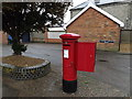 TM1279 : Victoria Road George V Postbox by Adrian Cable