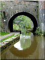 SJ8762 : Bridge No 75 at Hightown in Congleton, Cheshire by Roger  Kidd