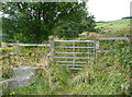 SE0027 : Gate on Law Lane at Rowland Lane by Humphrey Bolton