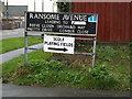 TM1579 : Ransome Avenue sign by Geographer