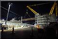 SD4663 : Folly Railway Bridge construction by Ian Taylor