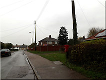 TM1579 : Ransomes Avenue & Ransomes Avenue Postbox by Adrian Cable