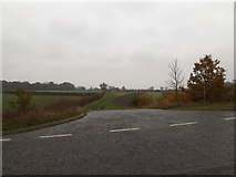 TM1579 : Field entrance off Scole Common Road by Adrian Cable