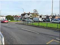 SP1285 : Junction of Hob Moor Road with Church Road, Yardley by Richard Law