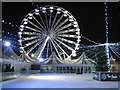SP0686 : Ice rink and big wheel, Centenary Square by Philip Halling