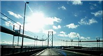 NT1279 : On the Forth Road Bridge by Graham Hogg