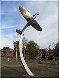 SD6922 : The Darwen Spitfire by Philip Platt