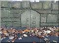 SE0325 : Boundary stone, Luddenden Lane by Humphrey Bolton