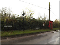 TM1583 : Dickleburgh Road Postbox & Telephone Box by Adrian Cable
