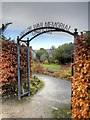 SJ9788 : Mellor War Memorial Gardens by David Dixon