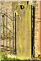 SJ9888 : Old Headstone in St Thomas's Churchyard by David Dixon