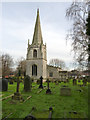 SK6590 : Church of St Wilfrid, Scrooby by Alan Murray-Rust