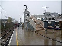 TQ3084 : Caledonian Road & Barnsbury station on a wet November afternoon by Marathon