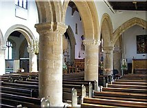 TF0920 : Inside the Abbey Church, Bourne, Lincolnshire by Rex Needle