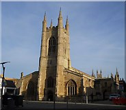 TL1998 : Church of St. John the Baptist, Cathedral Square, Peterborough by Paul Bryan
