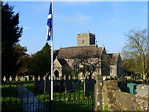 ST6990 : St Andrew's Cromhall by Ruth Sharville