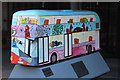 TQ3280 : Bus Art, 'Childhood on a bus' by Oast House Archive