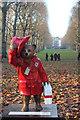 "TQ2979 : ""Golden Paws"" Paddington Bear, Green Park by Oast House Archive"
