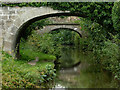 SJ8865 : Canal bridges south of North Rode, Cheshire by Roger  Kidd
