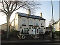 SJ5784 : The Red Lion at Moore by John Slater