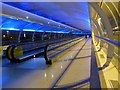 SJ8185 : Skylink moving walkway, Manchester Airport by Graham Hogg