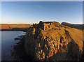 NG4074 : Duntulm Castle by John Allan