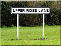 TM1178 : Upper Rose Lane sign by Adrian Cable