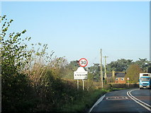 SO9335 : Kinsham Village Sign by Roy Hughes