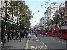 TQ2881 : Oxford Street, London by Roger Cornfoot