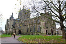 SO5039 : Hereford Cathedral by Jonathan Billinger